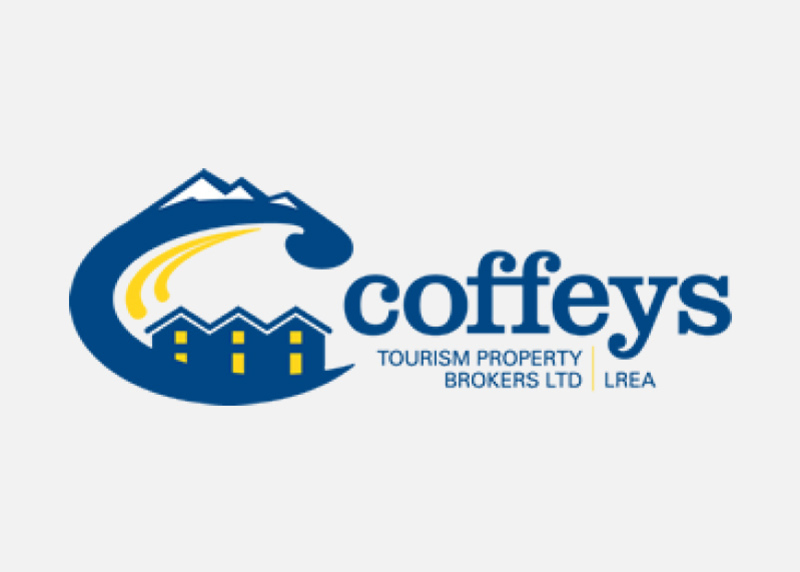 Coffeys Tourism Property Brokers Custom Logo Design