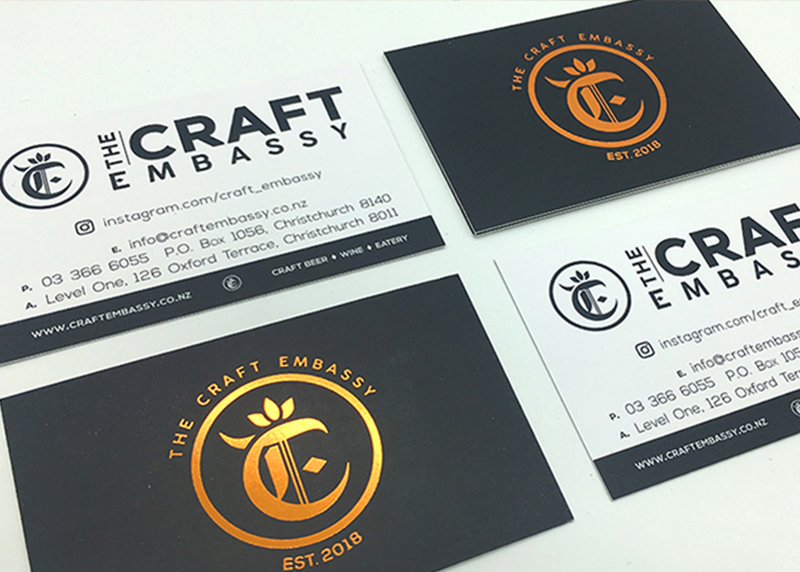 The Craft Embassy Professional Logo Design by Activate Design