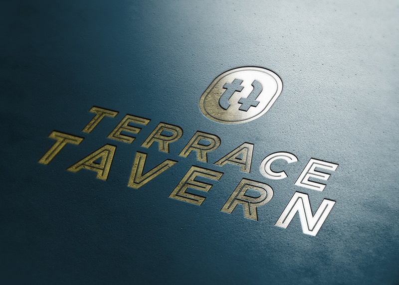logo design terrace tavern in Christchurch
