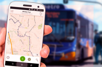 Metro Bus Application developed by Activate Design