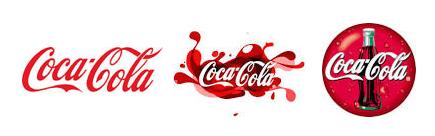 CokaCola Logo Design