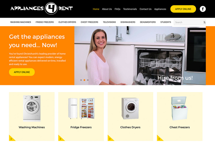 Appliances for Rent